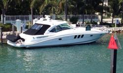 ****PRICE REDUCED -- OWNER SAYS SELL**** 2006 48' Sea Ray Sundancer -- White Hull Vessel in Excellent Condition -- Immaculate Engine RoomLoaded with Upgrades: Dual Raymarine E120's, Satellite TV, Teak Flooring in Helm Area, Cockpit A/C & Heat, Bow