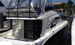 2006 52' Sea Ray Sedan Bridge -- Blue Hull Vessel Loaded with UpgradesOptions Include: Transom Davit System, Flybridge A/C + Heat, Bow Thruster, Satellite TV, Washer / Dryer & Much More!! *****Priced Aggressively for a Quick Sale, Call with an Offer