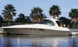 2006 52' Sea Ray Sundancer -- Immaculate Pewter Hull Boat with Only 350 HOURS on Twin MAN Diesels!!!***TWIN 698HP MAN ENGINE UPGRADE!!! Only of the only 2006 52DA's on the Market w/ this $62,500 Upgrade!!!!***Fully Loaded with Hydraulic Lift, Satellite