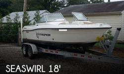 Actual Location: Mechanicsville, VA - Stock #087235 - If you are in the market for a dual console boat, look no further than this 2006 Seaswirl Striper 1851 DC, just reduced to $10,000.This boat is located in Mechanicsville, Virginia and is in good
