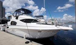Powered by Bulletproof 370hp Yanmar diesels, 8kw Kohler Generator only 220hrs, Glendinning electronic controls, Tri-Zone AC All New, Bow Thruster, Garmin 5212 Touch Screen , Fresh Bottom Paint, Glendinning Cablemaster, Windlass, Central Vacuum, Too Much