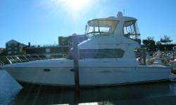This was a fresh water boat until 2 years ago. Real nice condition, well serviced and some thoughtful upgrades. Nominal Length: 42' Length Overall: 42' Drive Up: 3.6' Engine(s): Fuel Type: Other Engine Type: Inboard Draft: 3 ft. 7 in. Beam: 14 ft.