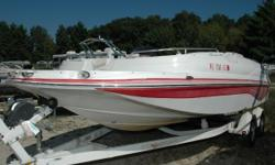 "NEW Winter Price ONLY! $9,595. HERE IT IS!! You have been looking for a used Deck Boat in ""Excellent Condition"" and reasonably priced!! HERE IT IS!! No need to search any further, this Starcraft Deck Boat will give you years of fun on the water and hours"