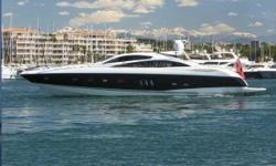 This 2006 82 Sunseeker Predator has been lightly enjoyed in the Mediterranean and South Florida. Having several boats/yachts in their global fleet, the owners have decided to put her the market for sale.She has a beautiful black hull, teak decks,