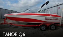 Actual Location: San Antonio, TX - Stock #083799 - If you are in the market for a bowrider boat, look no further than this 2006 Tahoe Q6, just reduced to $13,500.This boat is located in San Antonio, Texas and is in good condition. She is also equipped