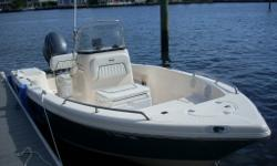 Key West 176 cc and trailer is in excellent condition, only 99 hours on engine. The boat is pre wired for a trolling motor on the bow. This is a great boat that is very economical to use. Two batteries with a dual battery charger. Tinted windshield with