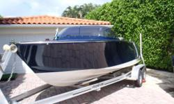 ACCOMMODATIONS & LAYOUT: 2007 20 Frauscher 606 Riviera with a FLOAT-ON Trailer! Exquisite simplicity cloaking pure performance. Starting at the Swim Platform, youll start to notice the abundance of polished Stainless Steel and Teak. There is a large