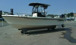 """Category: Powerboats Water Capacity: 0 gal Type:  Holding Tank Details:  Manufacturer: MayCraft Holding Tank Size:  Model: 2300cc Passengers: 0 Year: 2007 Sleeps: 0 Length/LOA: 23' 0"""" Hull Designer:  Price: $24,900 / €19,135 Engine Manufacturer:"""