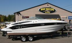 2007 Crownline 270 CR The 270 CR continues its gotta-have appeal. Even with all its extras, it's one of the industry's most affordable cruisers. The helm is designed for maximum operating efficiency and the lounge area for maximum comfort and convenience.
