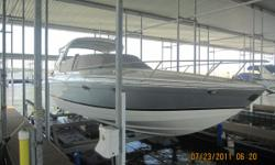 Key Features The Formula 330 Sun Sport is a boat you can feel comfortable on. The spacious cabin and the room offered by the deck lounge are all you need for a relaxing weekend on the water. On the deck the area behind the helm offers room for sun bathing
