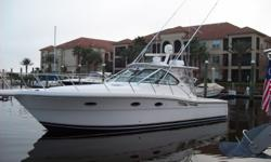 Description This 2007 Tiara 3600 Open THE GOOD STUFF is in excellent condition. The owner has maintained this boat to the highest standards! She is powered by Cummins 425 h.p. diesels (Full Engine Warranty through August 2015). Some of her many options