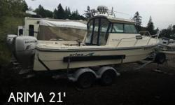 Actual Location: Gig Harbor, WA - Stock #105876 - If you are in the market for a walkaround, look no further than this 2007 Arima 21 Sea Ranger HT, just reduced to $39,900 (offers encouraged).This boat is located in Gig Harbor, Washington and is in good