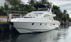NEW TO THE MARKET - Don't miss this Fantastic Opportunity to buy one of the versatile Azimut Yachts built - The 62'. Azimut has created a work of art with the Evolution, the timelessrounded lines illustrate its perfect balance and practical
