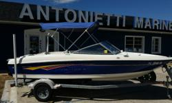 2007 Bayliner 175 BowRider, 3.0 Mercurser I/O, Low Time on boat, Very nice shape, Bimini top, Trailer, GPS/Fish Finder, Hand Held VHF, Lots of extra free stuff that goes with the boat. See Pictures, Boat Cover, Spare Tire... $7,990.00 Antonietti Marine