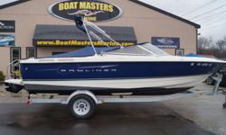 SOLD 2007 BAYLINER DISCOVERY 215 WITH MERCRUISER 5.0, CLEAN BOAT! Beam: 8 ft. 4 in. Hull color: Blue Stock number: USED419