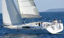 """""""Le Sirenuse"""" is a 2 cabin 2007 Beneteau 49, she is a oneowner boat with very little use. The Force10 stove and oven was never used and the 76HP Yanmar engine has only91 hourson it. The factory installed Westerbeke 7.6 KW generator has"""