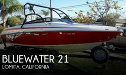 Actual Location: Moses Lake, WA - Stock #096784 - If you are in the market for a bowrider, look no further than this 2007 Bluewater Escape 21, priced right at $27,800 (offers encouraged).This boat is located in Moses Lake, Washington and is in great