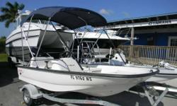 2007 Boston Whaler 130 Sport with a Mercury 40 4 stroke 2007 Boston Whaler 130 Sport with a Mercury 40 4 stroke. The 130 Sport is pure, uncomplicated fun. Slide it off the trailer, start it and go. Like the first 13-foot Whaler hull introduced in 1958,