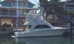 This boat is a fishing machine, she is rigged with 800 Common Rail MANS. They have 1100 hours in total and has been maintained and serviced throughout her life. The 40 Cabo built a reputation for being one of the best riding boats and this is one of the