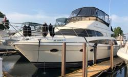 Very roomy design. Full-beam salon and galley. Volvo IPS pod drives make docking a breeze. hardwood floor truly compliments the interior. Spacious bridge and cockpit lend themselves to entertaining. Trades considered. Engine(s): Fuel Type: Diesel Engine