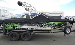 More than two decades after Centurion introduced the first V-drive towboat, the Elite V C4 was made. With a myriad of standard updates designed for the water sports enthusiasts, this boat will be sure to provide you with a lifetime of fun. The Gladiator