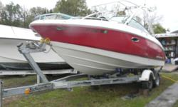 2007 CHAPARRAL 236 SSX Here is a fresh water run about from Chaparral Boats! This boat comes with all the neat features you would need or want to enjoy all of your favorite water sports activities. Quality all the way and the stylish looks to go with it!