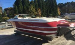 Rare ! 07 Christ Craft Lancer ?Rumble? seat Heritage edition. Volvo 5.0 / 270 hp and Volvo SX Drive. 369 hours on engine. This is probably the only boat in the country like this for sale right now. Boat is loaded with stereo, snap out carpet, bimini top,