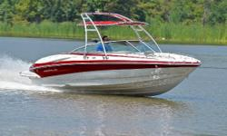 You are viewing a 2007 Crownline 220 LS Wake edition bow rider. This boat is in excellent condition with signs of being very well maintained. Boat has been kept in dry storage.    Hull: overall appears to be in excellent condition