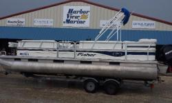 2007 Fisher Boats 240 LX, On The Florida / Alabama Gulf Coast We Make Boating Fun!!2007 Fisher 24DLX Pontoon w/ a Mercury 115HP 4 strokeTrailer includedHarbor View Marine is proud to offer this fantastic pontoon boat for famiyl and fishing good times2007