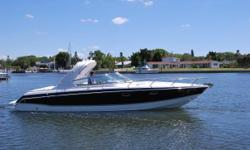 "The  ""Ultimate Family Sport Boat"" Loaded With Amenities. New upgrades including new cockpit carpet, LED cockpit lighting, Underwater lighting and new risers and manifolds. T-Mercruiser 6.2 MPI, Bravo III Outdrives, Trim Tabs, GPS, VHF, Depth Finder,"