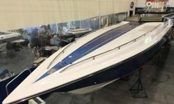 Don't miss out on one of the best off shore boats on the market. This is a low hour, fresh water only, pampered boat. We have full history from the two owners. It's been climate controlled indoor rack stored it's entire life and shows like new. The