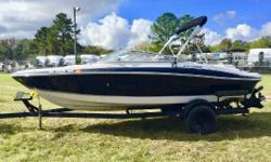 2007 Four Winns Horizon 200 This 2007 Four Winns Horizon 200 Boat is in great condition! This fiberglass boat is perfect for the river or lake with family and friends. This boat has lots of seating and storage! This boat has a radio, Bimini and more! Come