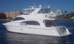 *****MAJOR PRICE REDUCTION*****2007 64' Hatteras MotorYacht 'GOOD MOVE' is an Immaculate Representation of what a Hatteras has to offerExcellent Condition Inside & Out -- Loaded with Options and Upgrades****Passport Warranty Good Through June 2013 +