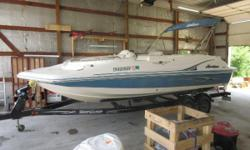 Price includes a Volvo V6 190Hp, Shorlandr' tandem axle Trailer, cover and bimini top.  Sale Price $16,799.00 Nominal Length: 20' Length Overall: 20' Beam: 8 ft. 6 in.