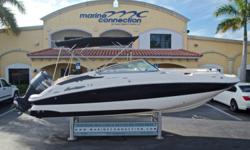 2007 Hurricane SunDeck SD 2400 OB, Marine Connection: South Florida's #1 Boat Dealer! Cobia, Hurricane, Sailfish Pathfinder, Sportsman, Bulls Bay, Rinker & Sweetwater new boats plus the largest selection of pre-owned boats. View full details and 59 photos