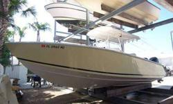 marinadelray.com Dry stack stored in immaculate condition,one owner 275 hrs. Full electronics package,under water lighting, Top Quality canyon runner with cushioned bow seating meets anglers needs for offshore fishability,onboard comfort.Standard features