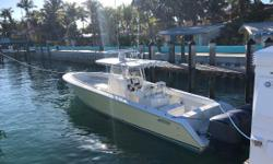 Preliminary Listing - More Photos/Details to Come! This boat show like it is brand new! Lots of upgrades and improvements. Yamaha Triple 300 HP engines in 2016 New upholstery in 2016 New covers in 2016 New Simrad electronics in 2016 New