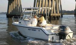 SOLD FOR SPRING AVG NADA VALUE W/ALL FEATURES-$28K+,SERVICED YEARLY BY OUT TEAM RIGHT HERE, MR. BAKKER IS SELLING HIS PERSONAL CRAFT/HAS THE 225 ETECH, WINDLASS, 2005 LOAD RIGHT ALUM. TRLR TANDEM W/NEW SPARE, SOFTOP, FISHFINDER, COMPASS, RAW WATER