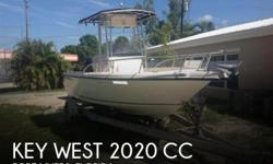 Actual Location: Fort Myers, FL - Stock #109835 - If you are in the market for a fishing, look no further than this 2007 Key West 2020 CC, just reduced to $23,499 (offers encouraged).This boat is located in Fort Myers, Florida and is in good condition.