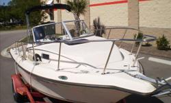 The smallest of the Key West cabin models the 2020WA is easy to tow and own, but still big enough to be comfortable for the family. Versatility is key in this boat allowing you to do anything from skiing to offshore fishing.This boat is complete with: