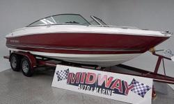 Go directly to our Midway web site for much more info and pictures. www . midway auto and marine . com WE TAKE TRADES!! FINANCING AVAILABLE!! ALL BOATS COME WITH WARRANTY!! Monterey builds a nice boat! Check out the