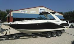 Harbor View Marine in Pensacola, Florida just received this beautiful 2007 Monterey 318 SSX! VERY LOW HOURS! This 2007 Monterey 318 SSX has all the amenities of the 318SS, but the SSX elevates the style and performance to an even higher level. The