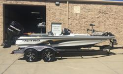 2007 NITRO 901CDX W/200 MERCURY OPTI MAX W/SST PROP, HYDRO STERRING, HYDRO JACK PLATE, HOT FOOT, THREE BANK CHARGER, LOWRANCE LMS 322 ON BOW, X501C IN DASH, LCX-37C ON RAM MONUNT, MINN KOTA 101 FORTREX TROLLING MOTOR, CUSTOM DRIVE ON TRAILER