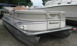 Yamaha 60 hp 4 stroke EFI Comes with rear ladder, rear table, depth finder, docking lights, am fa, bimini and a mooring cover. Nominal Length: 20' Stock number: N/A