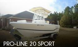 Actual Location: Bryceville, FL - Stock #042128 - EXCEPTIONAL FISHING BOAT!! LOADED AND READY TO GO!!This Pro-line is in fabulous condition!! Features a smooth dry ride, the exceptional fuel economy of a single 4 stroke and the speed and durability to get
