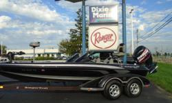 2007 Ranger Z20, STK#43 BLACK/SILVER POWERED BY EVINRUDE 225, LOWRANCEHDS 9 (CONSOLE), LOWRANCE HDS 7 (BOW), MINNKOTA FORTREX 80 LBS./24V,COVER, DUAL CONSOLE. Nominal Length: 20' Stock number: 43