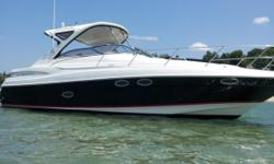 Location: New Buffalo, MI, US Motivated seller just reduced by 20K . TRADES WELCOME!This boat is equipped with full camper enclosure, hardtop, camera monitoring system, E-80 color plotter/gps, underwater lighting, 7.3kw kolher generator,