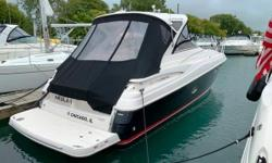 This boat is equipped with brand new sea grass mat,full camper enclosure, hardtop, camera monitoring system, E-80 color plotter/gps, underwater lighting, 7.3kw kolher generator, cockpit fridge/icemaker combo, ipod adapter, 6 disc changer,