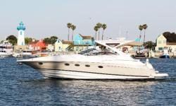 Rare West Coast offering of a like new Regal 4460. Original owner. Only 150 hours of gentle use. Recent out-of-water survey. Nominal Length: 44' Length Overall: 44.6' Engine(s): Fuel Type: Other Engine Type: Inboard Beam: 14 ft. 0 in.