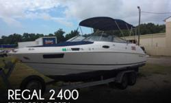 Actual Location: Pensacola, FL - Stock #082227 - If you are in the market for a bowrider, look no further than this 2007 Regal 2400, just reduced to $19,987 (offers encouraged).This boat is located in Pensacola, Florida and is in good condition. She is